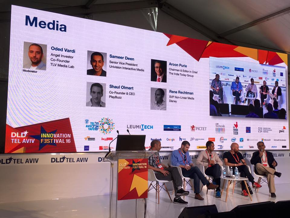 Start-up ecosystem study visit to DLD Tel Aviv Innovation Festival