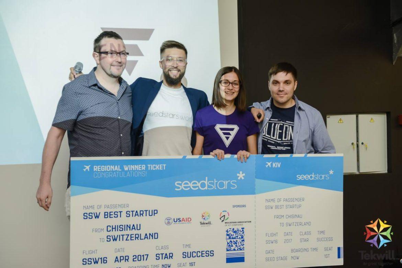 EnergySolaris at Seedstars World in Chisinau