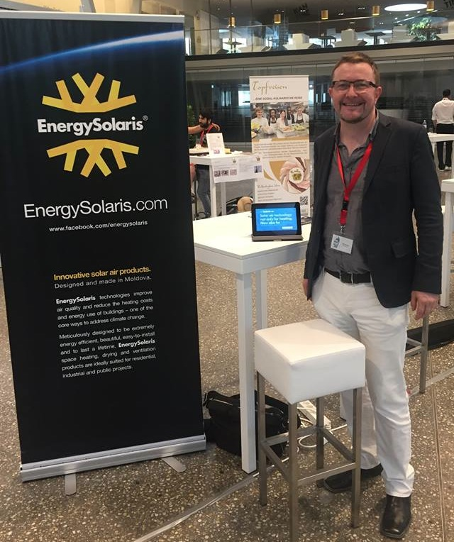 EnergySolaris presents at CEE Impact Day 2017 in Vienna